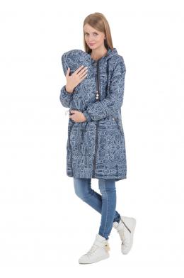Слинговставка темно-синяя к демисезонной куртке