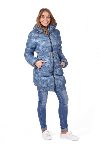 """Куртка зимняя 2 в 1 """"Юта"""" джинса"""