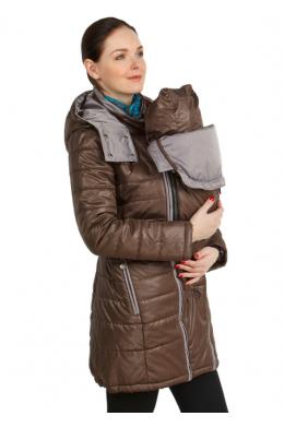Слинговставка коричневая к демисезонной куртке
