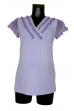 Блуза с шифоном для беременных цвет в ассортименте