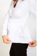 Блузка белая классическая для беременных