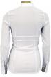 Блузка белая с жабо для беременных