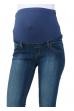Джинсы темно-синие для беременных
