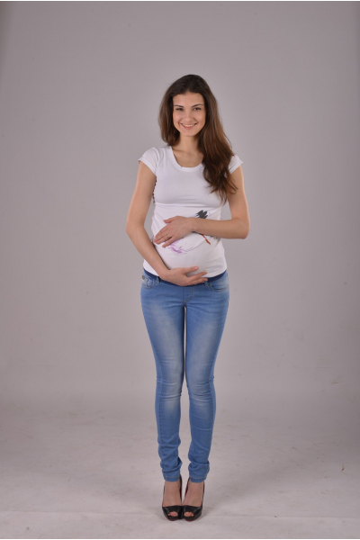 Джинсы 4135 для беременных