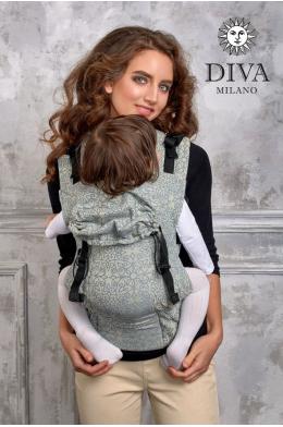 Эрго-рюкзак Diva Basico Damasco с рождения