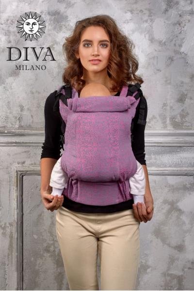 Эрго-рюкзак Diva Basico Perla с рождения