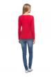 """Блуза """"Злата"""" красная для беременных и кормящих"""