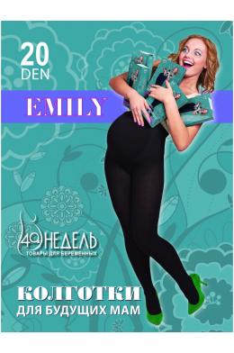 Колготки EMILY 20 den черные