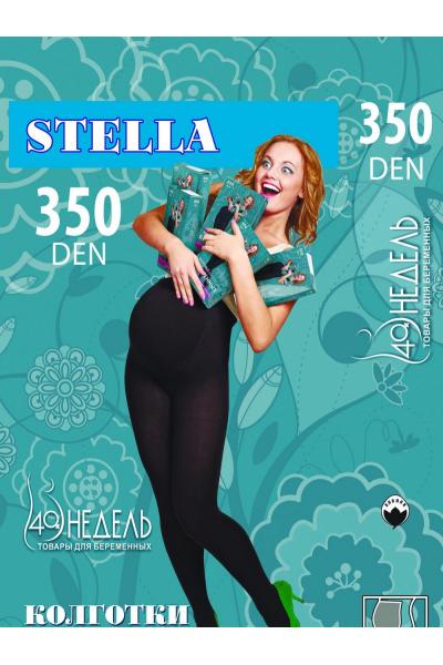 Колготки Stella 350 den хлопок/шерсть