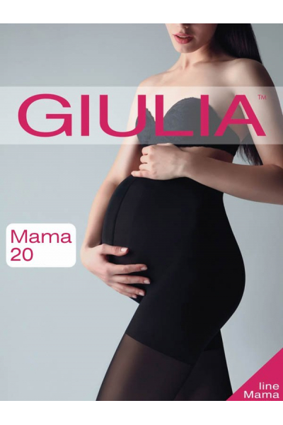 Колготки Giulia 20 den черный
