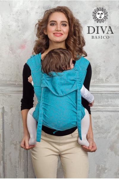 Май-слинг Diva Basico Lago, размер Toddler (с 6 месяцев)