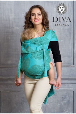 Май-слинг Diva Essenza Menta, размер Toddler (с 6 месяцев)