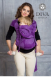 Май-слинг Diva Essenza Viola, размер Toddler (с 6 месяцев)