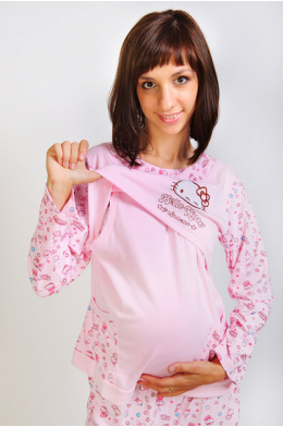 Пижама для беременных и кормящих