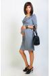 Платье серое для беременных