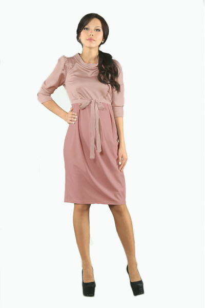 Платье лиловое для будущих мам
