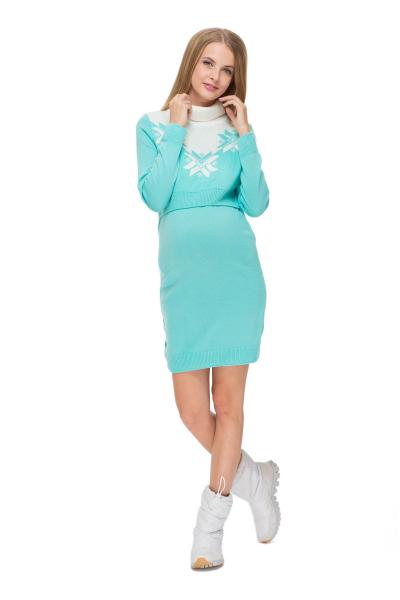 """Платье """"Фрост"""" для беременных и кормящих"""