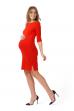 """Платье """"Марисса"""" красное для беременных"""