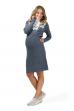 """Платье """"Ричмонд"""" деним для беременных и кормящих"""