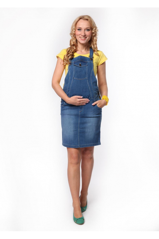 Сарафан джинсовый для беременных 6694ba13cc5