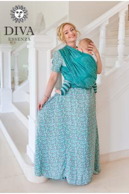 Слинг-шарф Diva Essenza Smeraldo с бамбуком