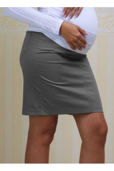 Юбка серая для беременных